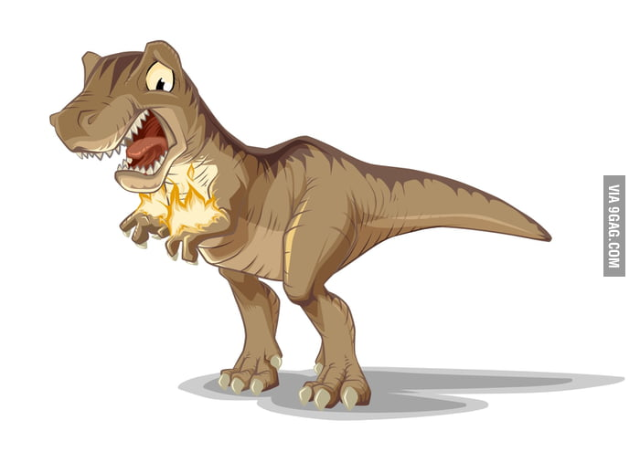 The worst thing happens on a T-Rex