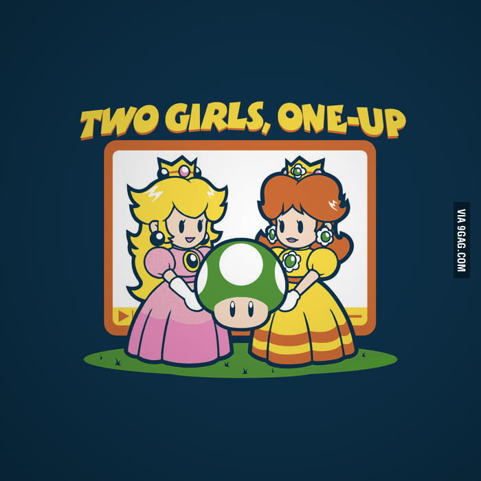 Two Girls, One-Up.