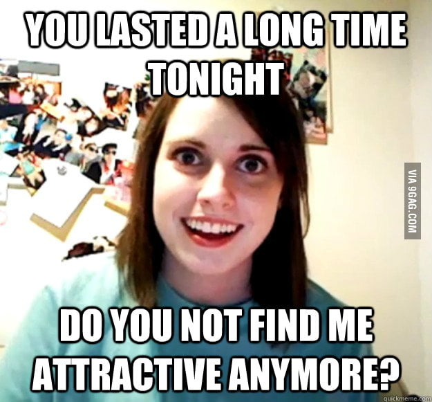 Overly Attached Girlfriend on long sex sessions