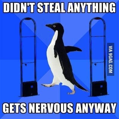 Every time I shop somewhere