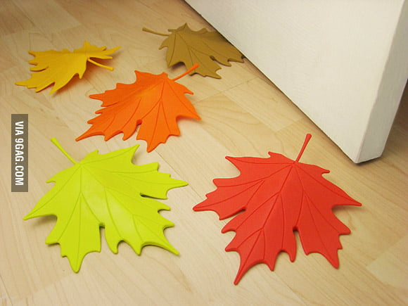 Leaf door stoppers