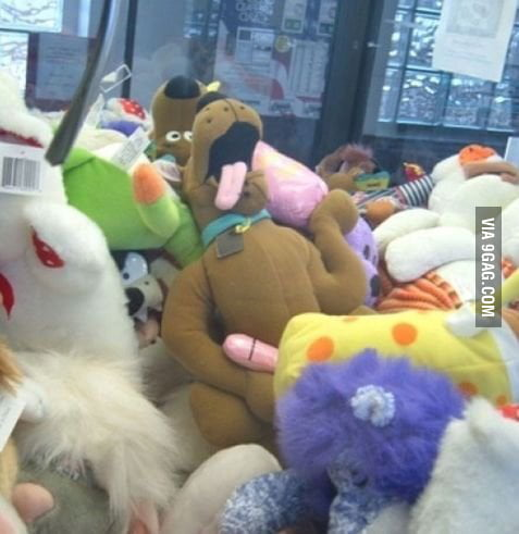 What are you doing, Scooby?