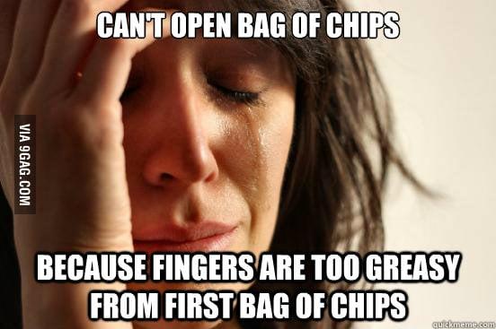 This always happens.