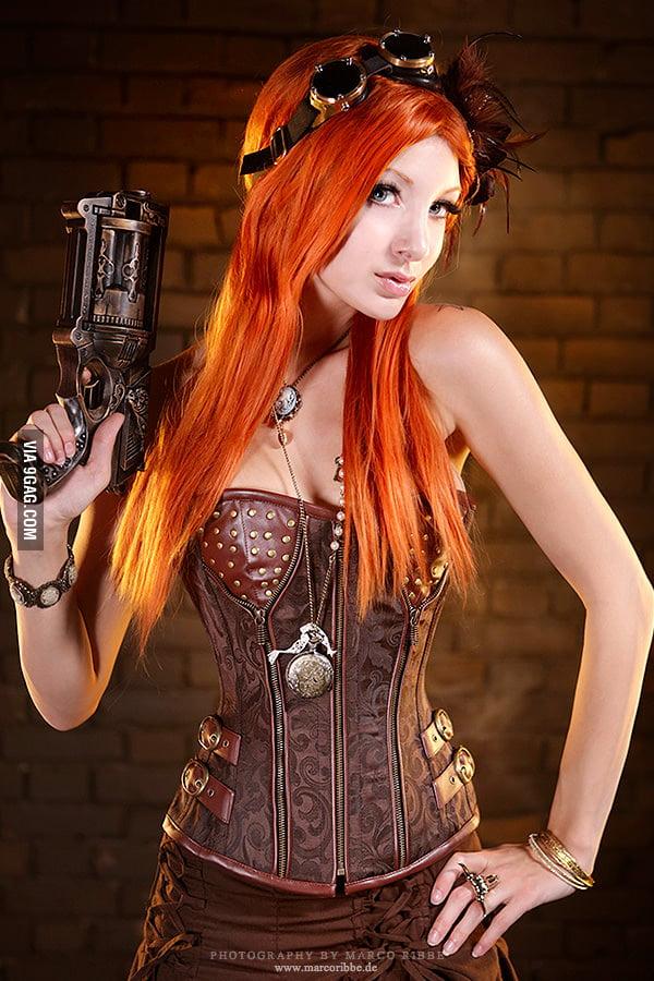 Redheaded Steampunk