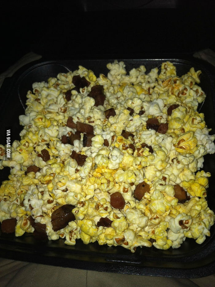 Dream theater serves this: Bacon Popcorn