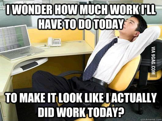 My daily office thought
