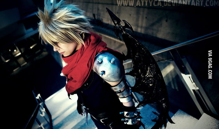 Cloud Strife - Kingdom Hearts