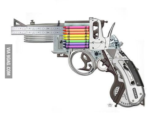 The Creative Gun