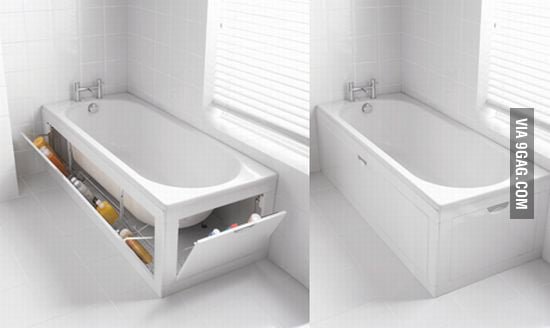 All bathtubs should be like this.