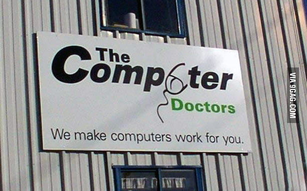 They don't just fix computers...