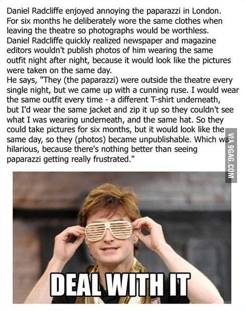 Daniel Radcliffe vs. Paparazzi
