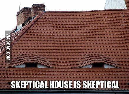 funny meme Skeptical House seanplayerblue •