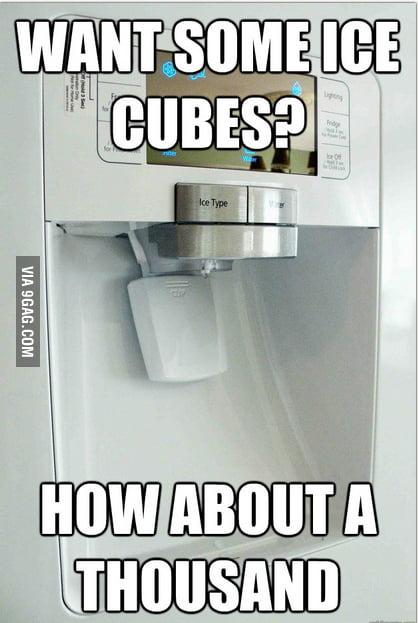Scumbag ice machine