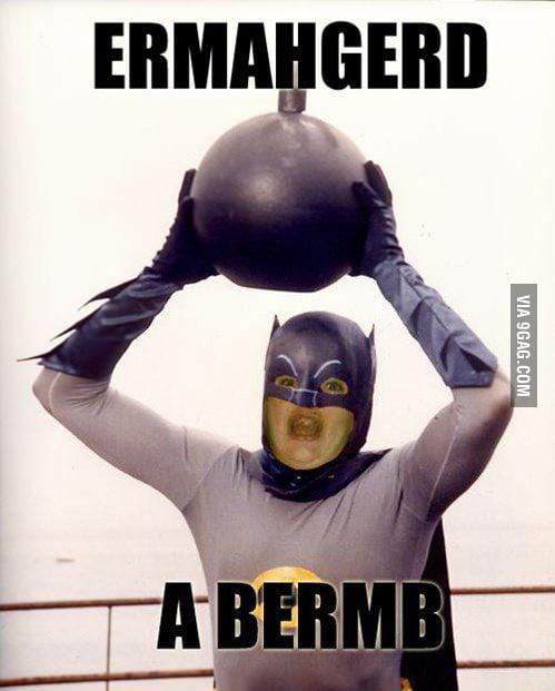 HURR A BERMB!!!