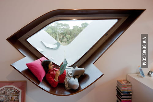 Perfect place to read a book