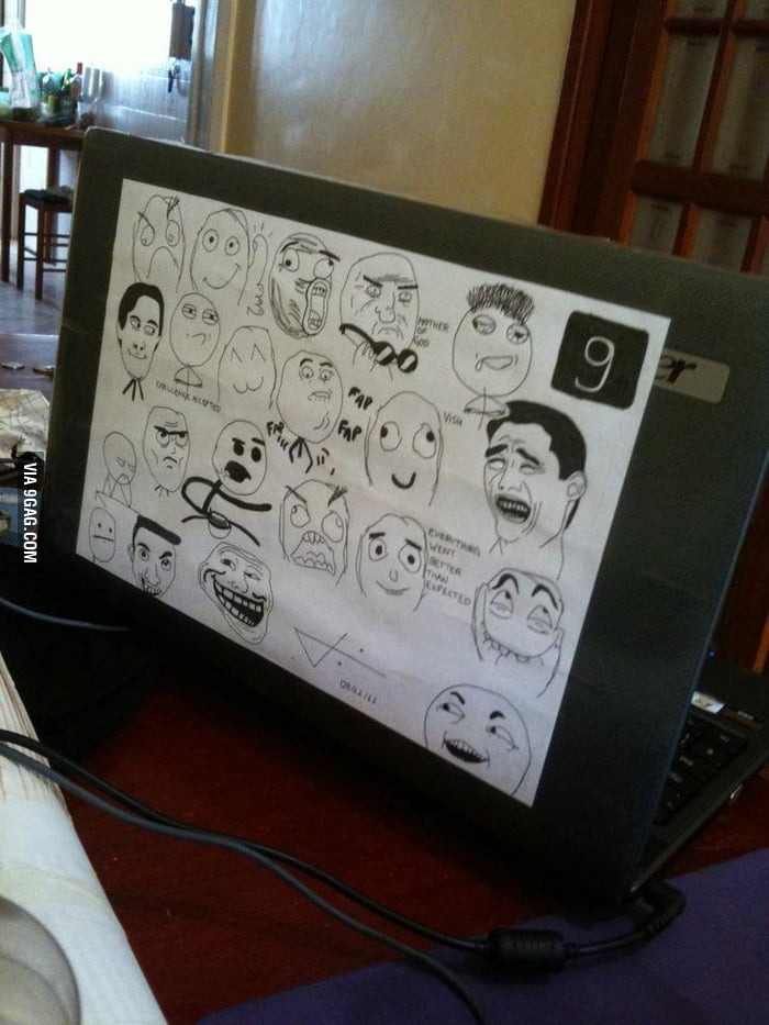 My laptop's cover.