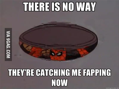Good one spidey, good one
