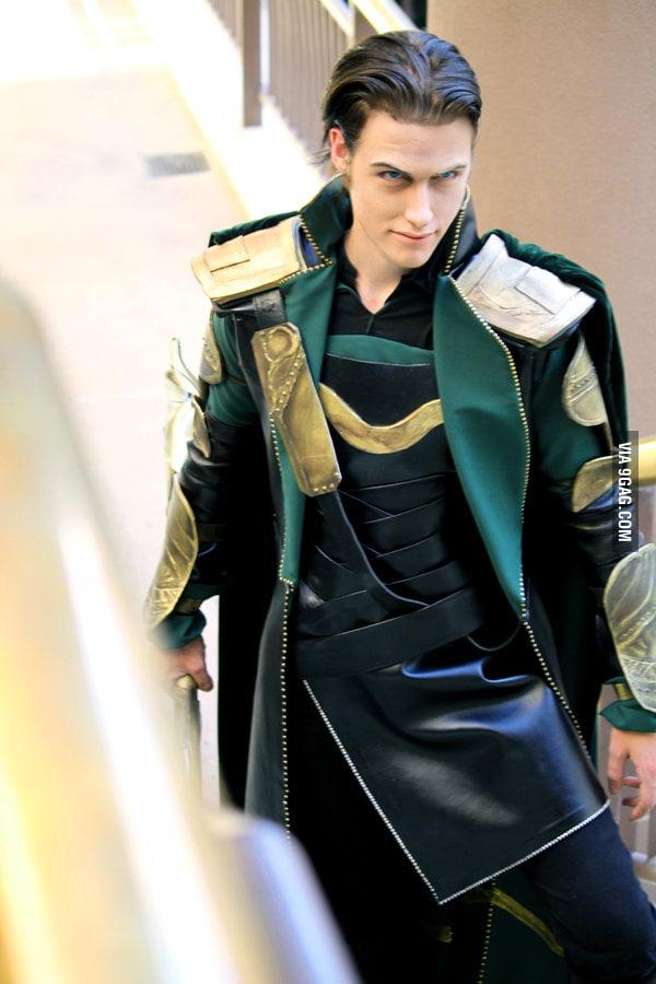 Loki Laufeyson Cosplay