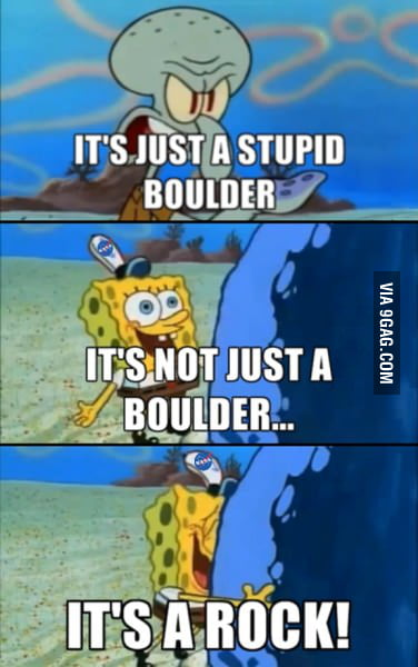 Squidward on NASA's Curiosity