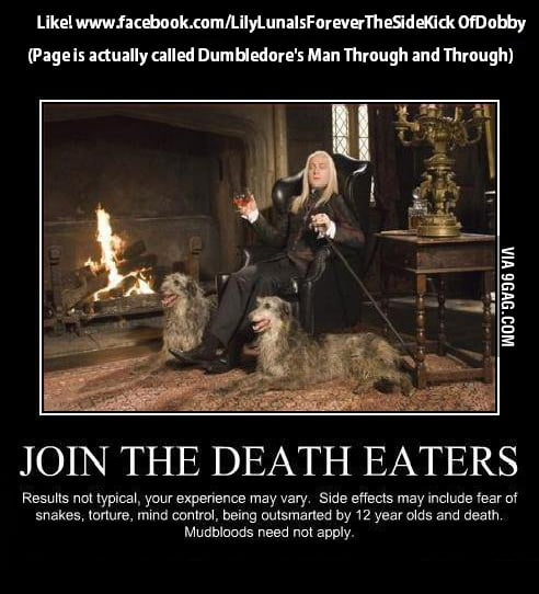 Join the Death Eaters!