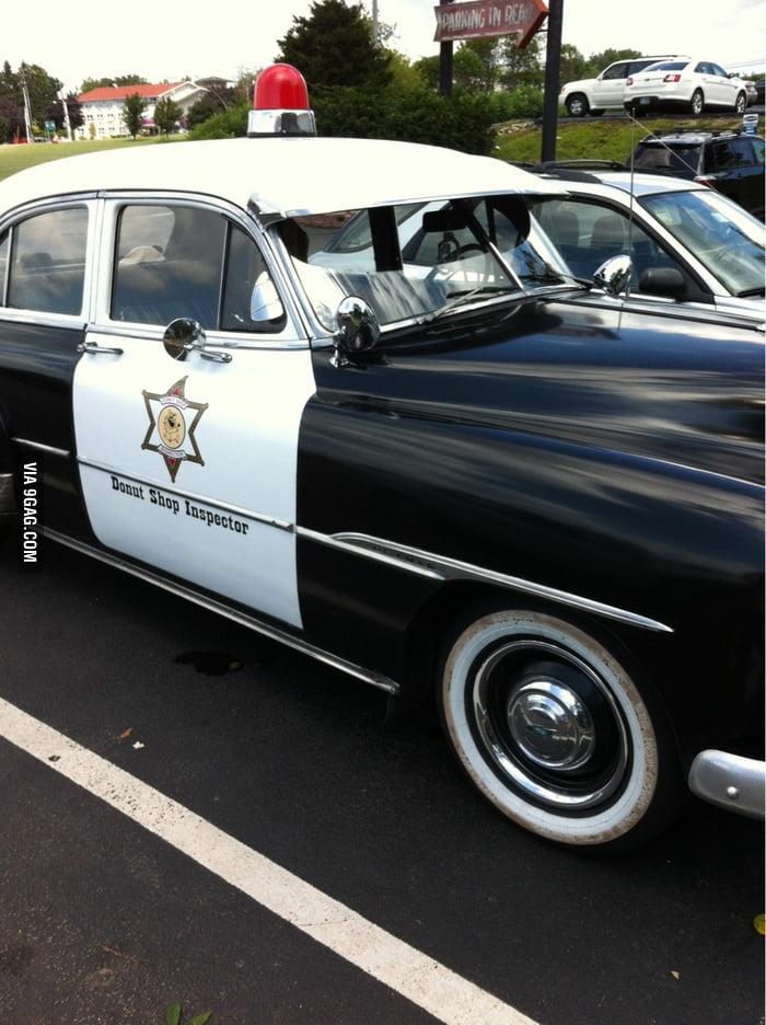 A police car...?