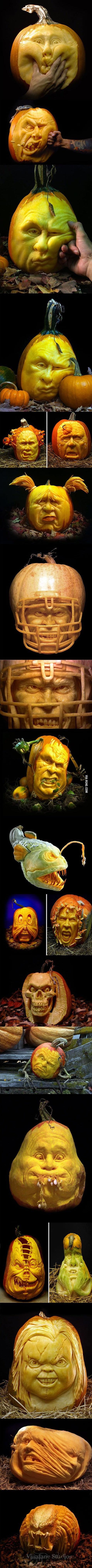 Brilliant Pumpkin Carving