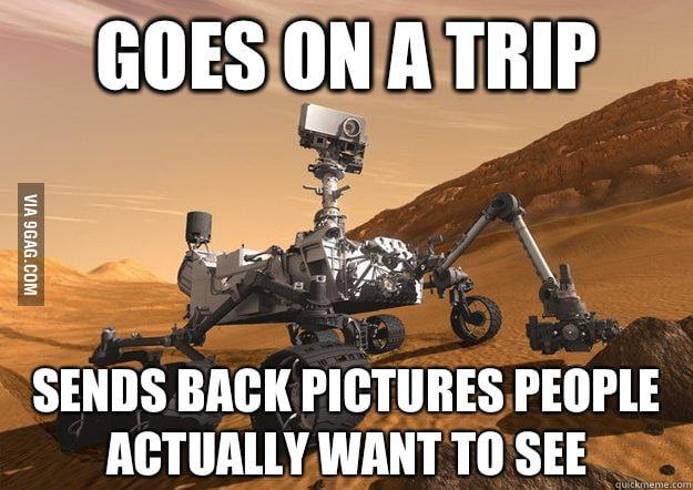 Good Guy Mars Rover