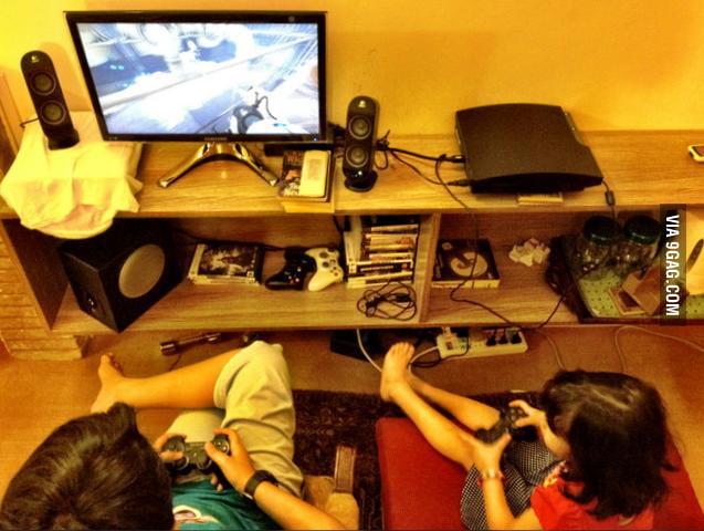 To all the gamers with younger siblings