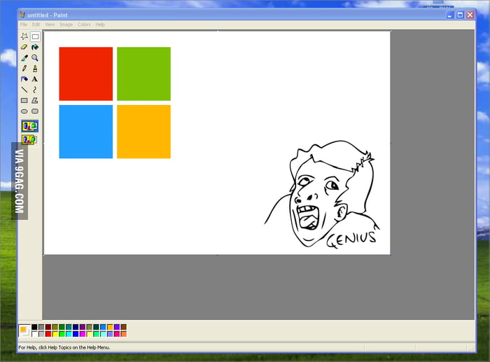Microsoft's new logo...genius...