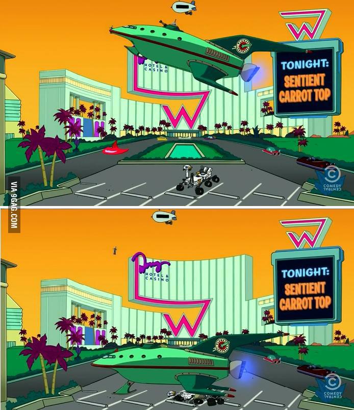 Curiosity made a special appearance on Futurama!