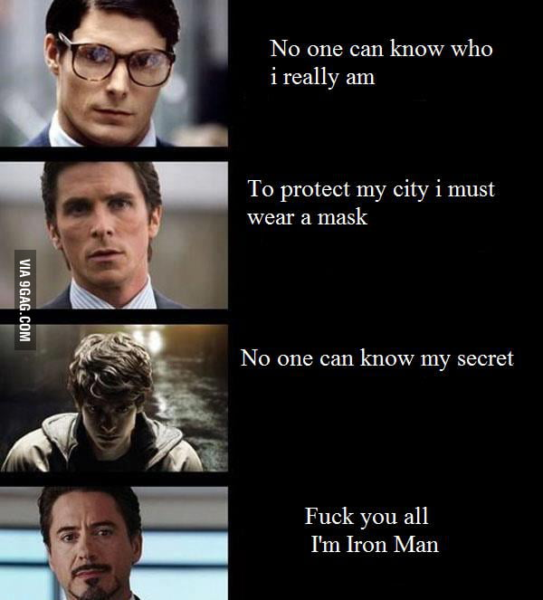 Just Iron Man
