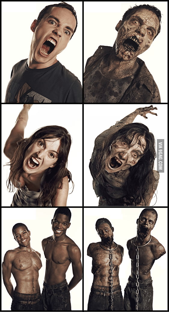 The Walking Dead: Zombie Transformations