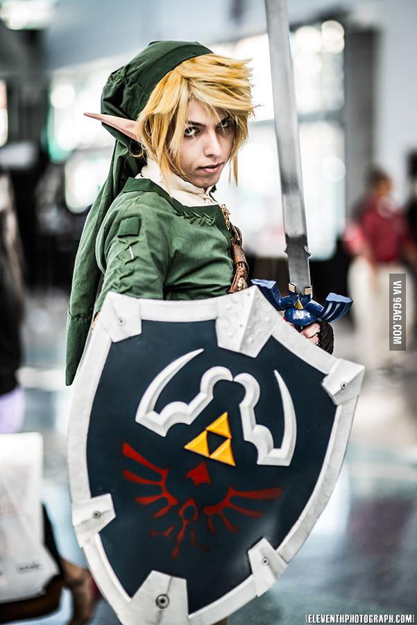 Link cosplay - Battle ready