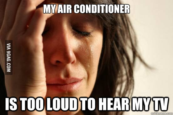 A real first world problem