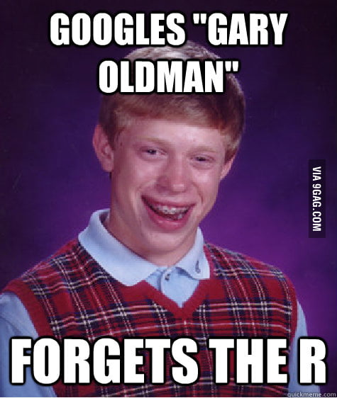 Bad Luck Brian Gets Curious
