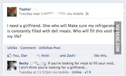 I need a girlfriend...
