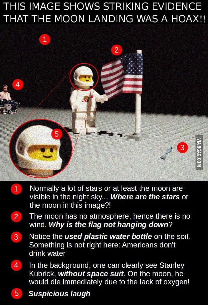 hoax moon landing footprint - photo #28