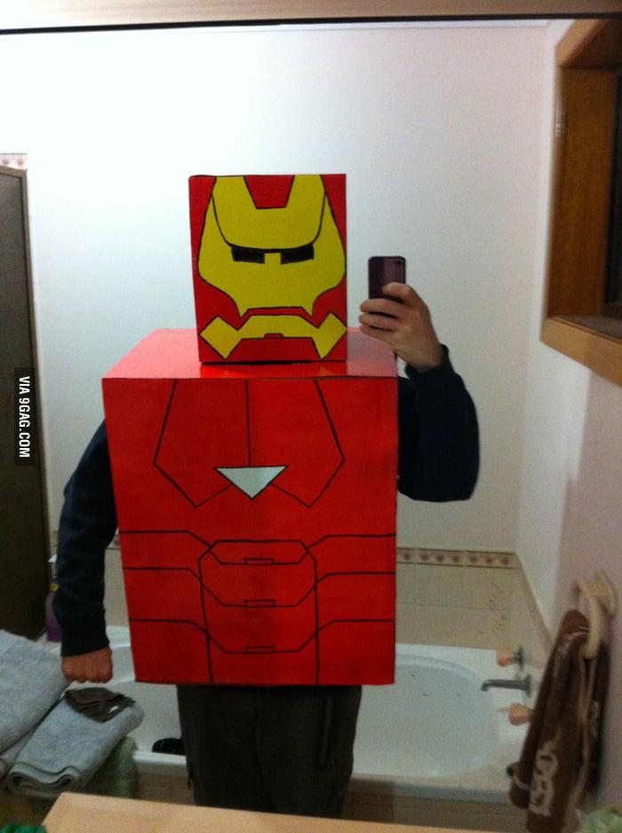 Cardboard Iron Man!