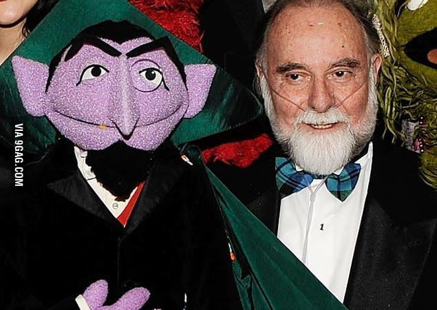 Jerry Nelson (Count von Count) passed away yesterday. R.I.P.
