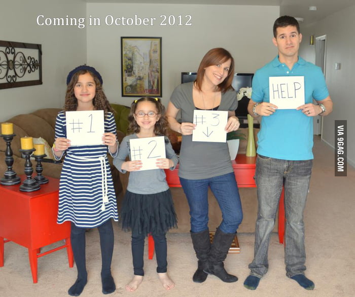 My friend and his wife are expecting a 3rd child...