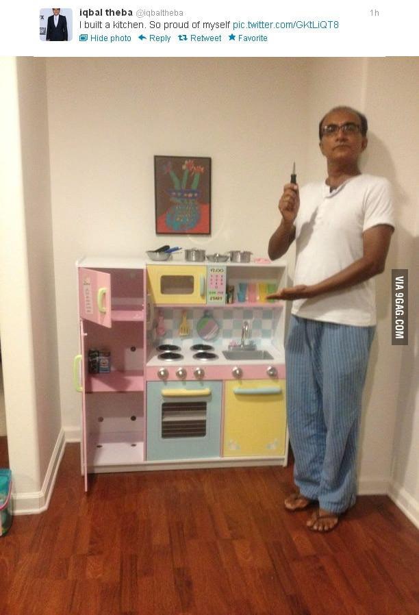 I built a kitchen