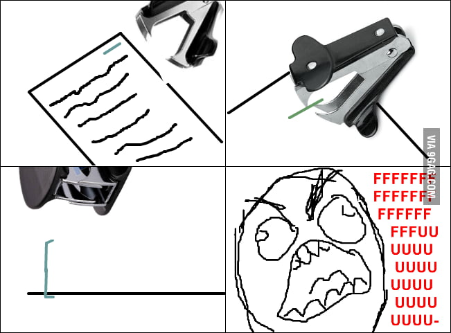 Staple Remover rage