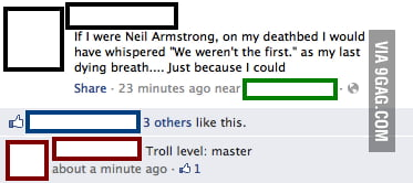 If I were Neil Armstrong...