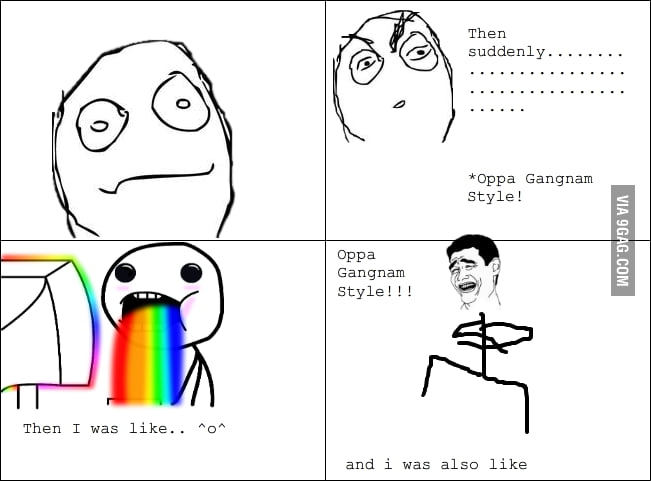 gangnam style meme facebook relationship