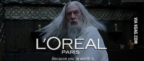 Nice hair, Gandalf
