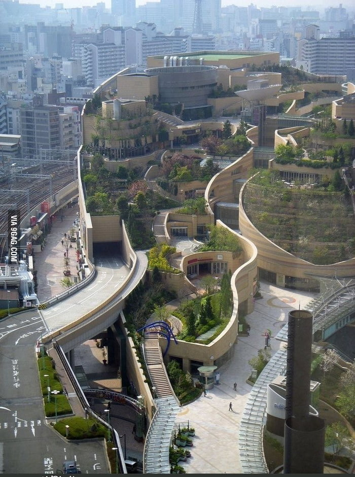 Green Mall in Japan