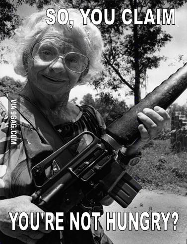 Grandma Is Not Pleased