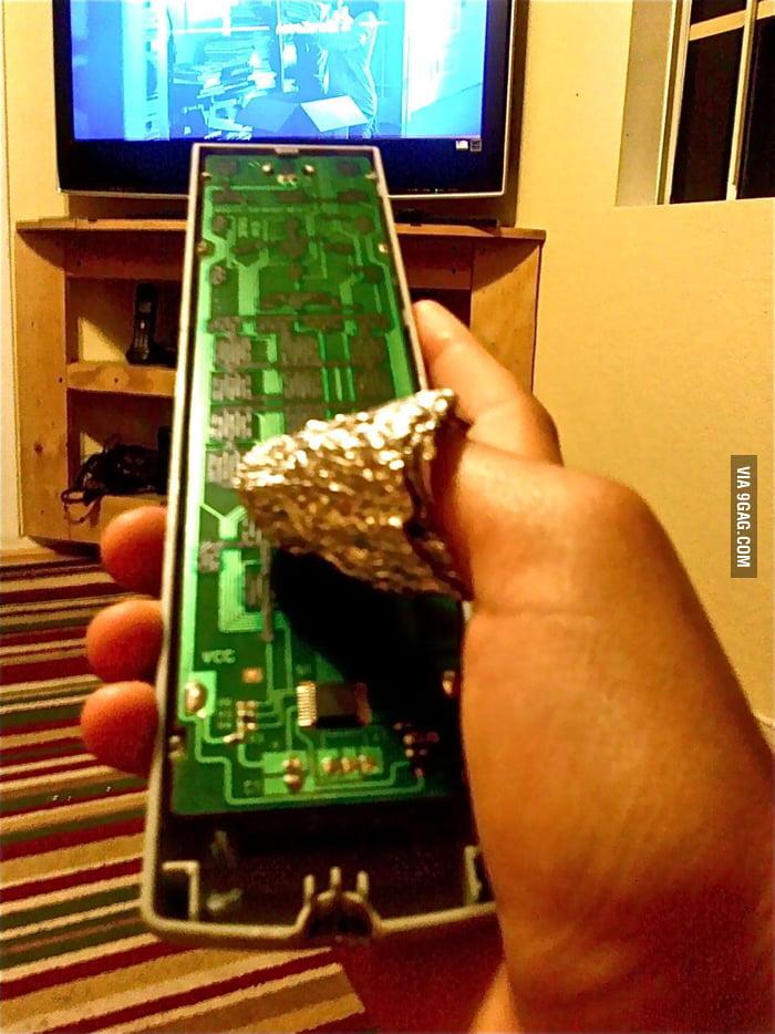 My TV remote is broken but...