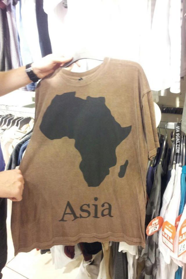 Asia? Really?