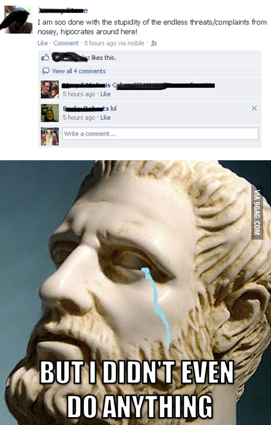 Poor Hipocrates